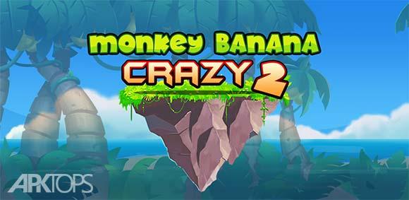 Banana Monkey Crazy 2 دانلود بازی موز و میمون دیوانه2
