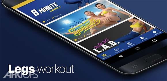 Legs workout 4 Week Program دانلود برنامه تمرینات 4 هفته ای پا ها