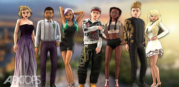 Avakin Life 3D virtual world دانلود بازی زندگی اواکین در دنیای مجازی