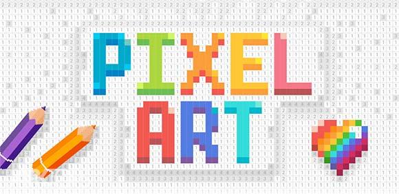 Pixel Art Color by Number Game دانلود بازی رنگ امیزی هنری پیکسل ها