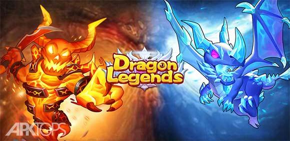 Dragon Legends Dreamsky دانلود بازی افسانه های اژدها