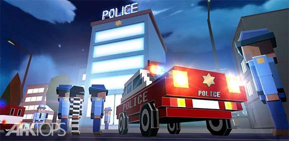 Blocky City Ultimate Police دانلود بازی شهر بلوکی پلیس بینهایت