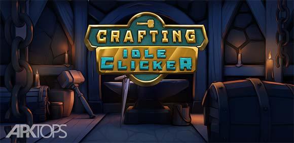 Crafting Idle Clicker دانلود بازی کلیکی ساخت و ساز