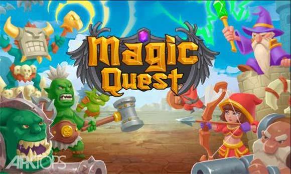 Tower Defense Magic Quest دانلود بازی برج دفاعی جستجوی جادویی