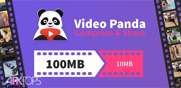Panda Video Compressor Movie & Video Resizer دانلود برنامه فشرده سازی فیلم ها و کاهش حجم