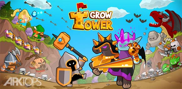 Grow Tower Castle Defender TD دانلود بازی رشد قلعه محافظت از دژ