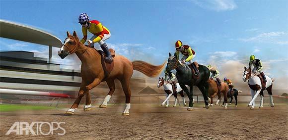 Horse Derby Quest 2016 دانلود بازی مسابقات هیجان انگیز اسب