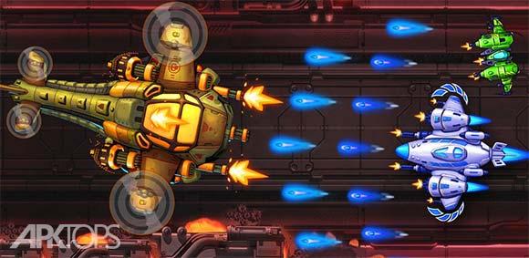 Space X Sky Wars of Air Force دانلود بازی فضای ایکس جنگ های اسمانی