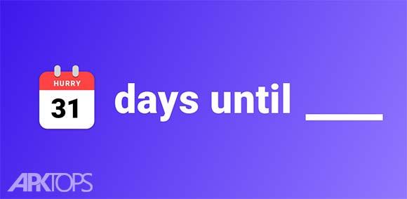 Hurry Countdown to Birthday Vacation دانلود برنامه ساخت شمارش معکوس برای روز ها