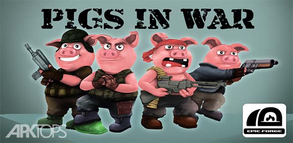 Pigs In War Strategy Game دانلود بازی خوک ها در نبرد