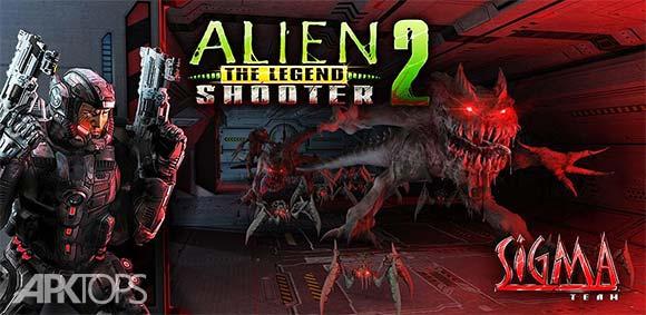 Alien Shooter 2 The Legend دانلود بازی تیراندازی بیگانه2