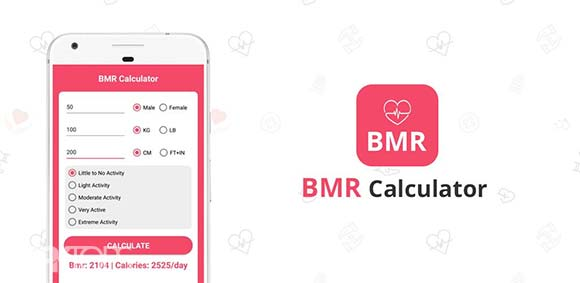 BMR Calculator Calculate BMR Instantly دانلود برنامه محاسبه متابولیسم بدن