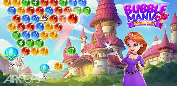 Bubble Mania دانلود بازی حباب های رنگارنگ