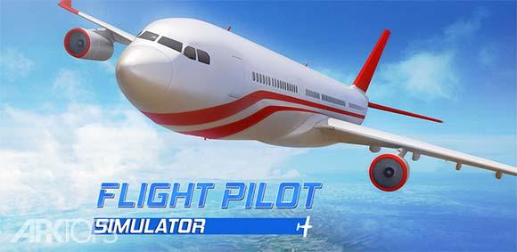 Flight Pilot Simulator 3D دانلود بازی شبیه سازی خلبانی پرواز