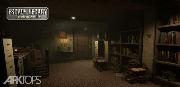 Escape Legacy 3D Escape Room Puzzle Game دانلود بازی میراث فرار