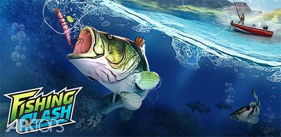 Fishing Clash Catching Fish Game Bass Hunting 3D دانلود بازی تلاش برای ماهیگیری