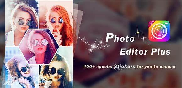 Photo Editor Plus Makeup Beauty Collage Maker دانلود برنامه ویرایش تصاویر ،ارایش چهره و ترکیب تصاویر
