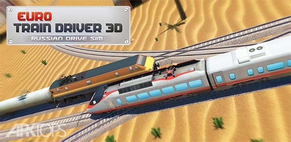 Euro Train Driver 3D Russian Driving Simulator دانلود بازی شبیه سازی راندن قطار در روسیه