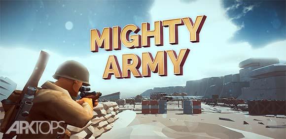 Mighty Army World War 2 دانلود بازی ارتش قدرتمند در جنگ جهانی دوم