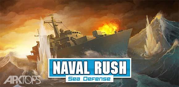 Naval Rush Sea Defense دانلود بازی حمله ی نیروی دریایی
