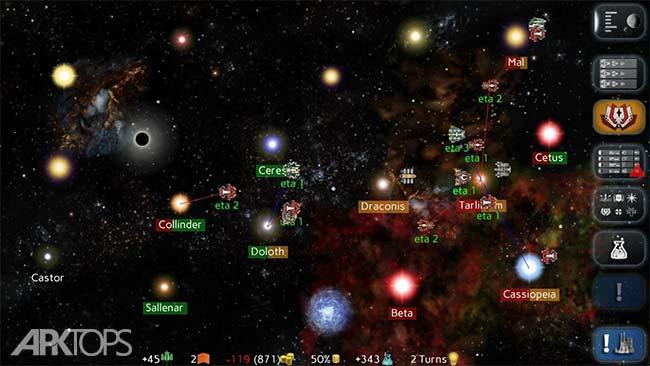 Uciana v1992 دانلود بازی ستاره های فضایی اندروید