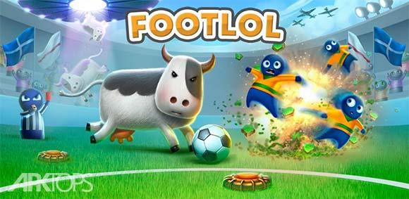 FootLOL Crazy Soccer دانلود بازی فوتبال طنز و احمقانه