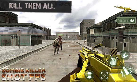 Zombie Killer Shot FPS دانلود بازی قاتل زامبی ها