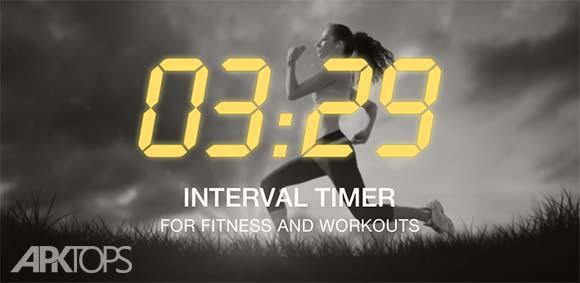 Interval Timer HIIT Training دانلود برنامه تایمر معکوس