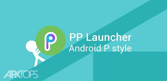 Pi Pie Launcher PP Launcher Android 9.0 P mode دانلود برنامه لانچر اندروید پی