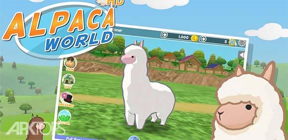 Alpaca World HD + دانلود بازی دنیای الپاکا