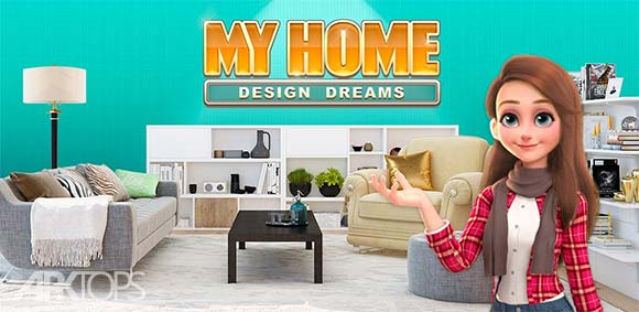 My Home Design Dreams دانلود بازی خانه ی من طراحی رویاها
