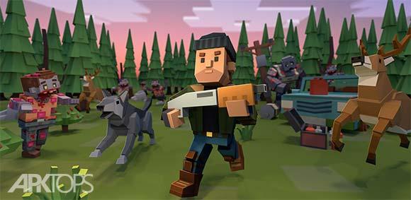 Cube Survival Story دانلود بازی داستان زنده ماندن مکعب