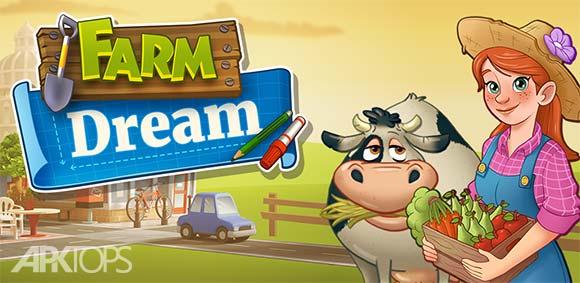 Farm Dream Village Harvest Town P دانلود بازی مزرعه رویایی محصول دهکده