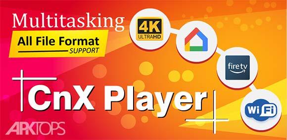 CnX Player Ultra HD Enabled 4K Video Player دانلود برنامه پلیر سی ان ایکس