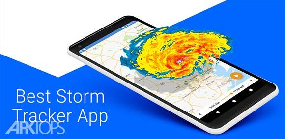 RainViewer Weather Radar Rain Alerts دانلود برنامه رادار و هشدار دهنده بارش باران