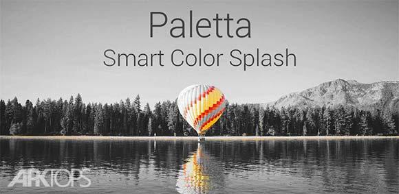 Paletta Smart color splash دانلود برنامه تغییر رنگ تصاویر