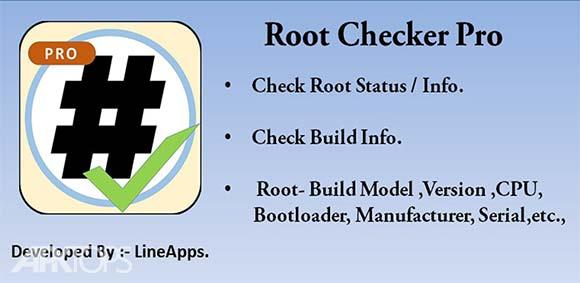 Root Checker Pro دانلود برنامه چک کردن روت بودن دستگاه