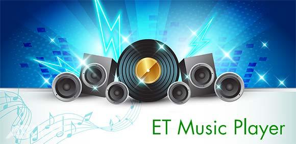 ET Music Player Pro دانلود برنامه پخش کننده موسیقی ای تی