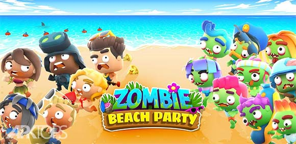 Zombie Beach Party دانلود بازی مهمانی زامبی ها در ساحل