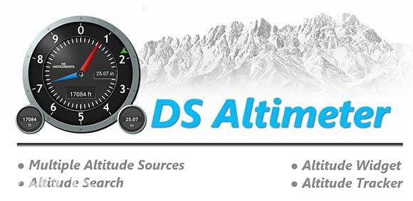Altimeter & Altitude Widget دانلود برنامه ویدجت ارتفاع سنج
