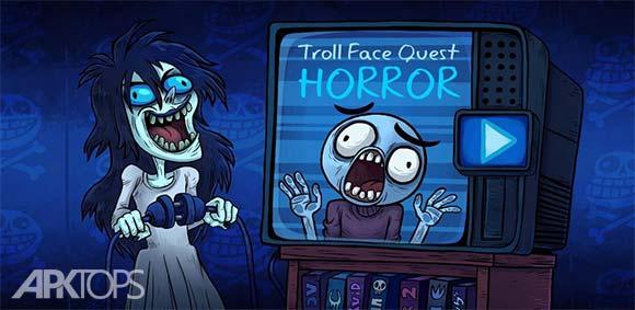 Troll Face Quest Horror دانلود بازی درجستجوی صورتک ترول ترسناک