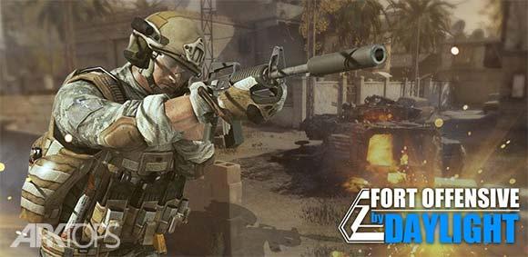 Fort Offensive by Daylight دانلود بازی حمله به دژ در روز روشن