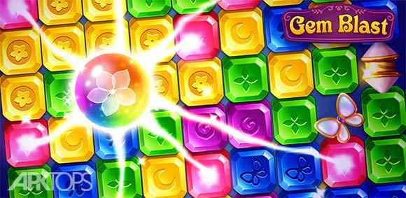 Gem Blast Magic Match Puzzle دانلود بازی انفجار الماس