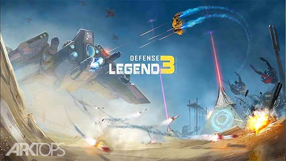 Defense Legend 3 Future War دانلود افسانه دفاع 3 جنگ اینده