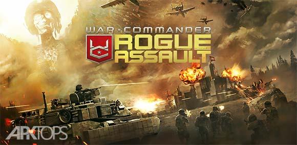 War Commander Rogue Assault دانلود بازی فرماندهی جنگ