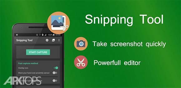 Snipping Tool Screenshot Touch دانلود برنامه ثبت اسکرین شات از صفحه گوشی