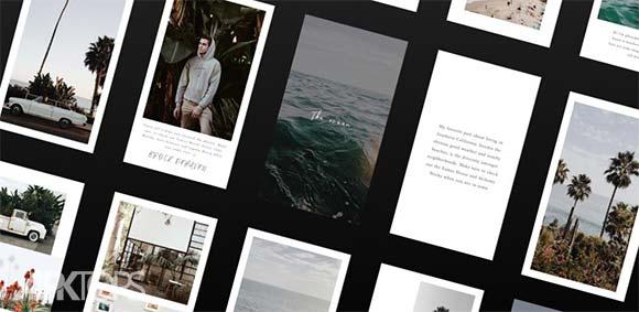 Unfold Create Stories دانلود برنامه ساخت استوری