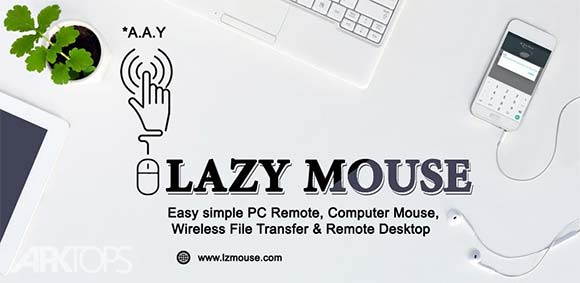 Lazy Mouse Pro PC Remote دانلود برنامه تبدیل گوشی به ریموت کامپیوتر