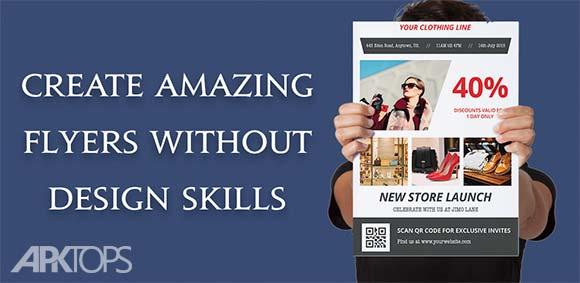 Flyer Maker Poster Creator Card Designer دانلود برنامه طراحی پوستر و کارت
