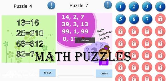 Math Puzzles PRO 2018 دانلود بازی معما های ریاضی